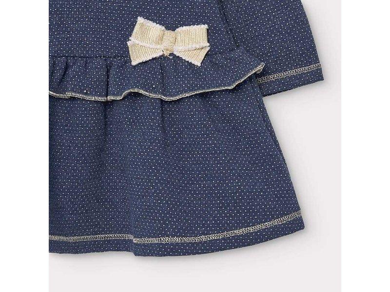 Mayoral Mayoral Plush dress baby girl -size 6M