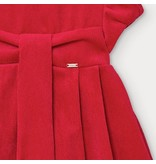 Mayoral Mayoral micro-corduroy red dress baby girl -size 6M