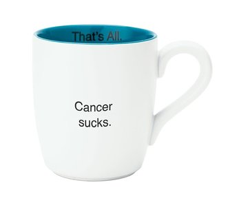 Santa Barbara Cancer Sucks Mug