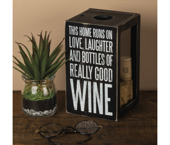 Primitives by Kathy Wine Cork holder