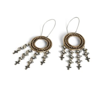 Coco & Carmen Mixed Metal Credence earrings