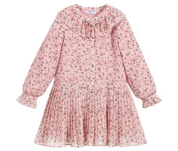 Mayoral Mayoral Chiffon hearts dress girl -size 4