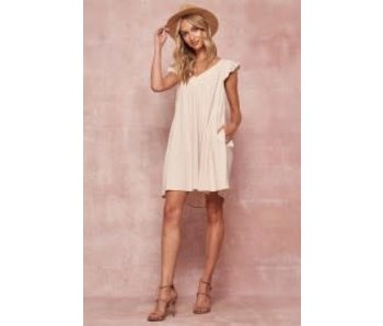 Promesa Promesa Flared Babydoll mini dress