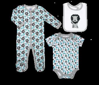 Baby Mode 3 PC Sleeper Set -Lion