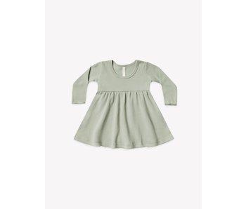 Quincy Mae Quincy Mae Long sleeve baby dress