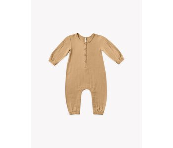 Quincy Mae Quincy Mae Woven Jumpsuit -size 3-6M