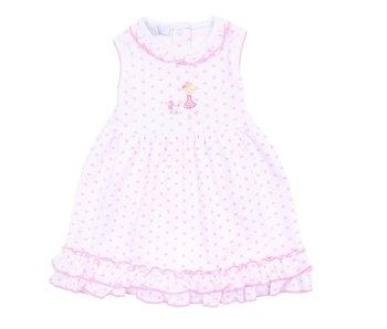 Magnolia Baby Magnolia Baby Tres Chic Ruffle sleeveless dress set -size 3M