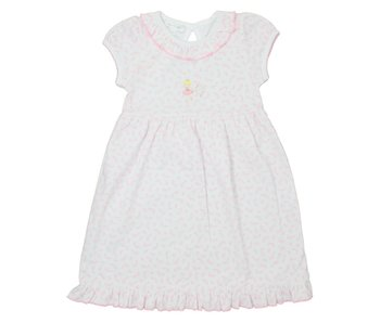 Magnolia Baby Magnolia Baby Ballet Duet Embroidered toddler dress