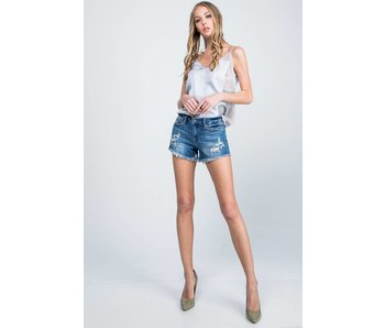 Special A Jeans Special A Jeans Medium-dark Mid rise long inseam shorts