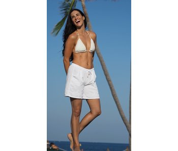 Cotton Natural Cotton Natural Carmel shorts in white
