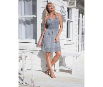 Cotton Natural Cotton Natural Martinique Fossil Gray Dress