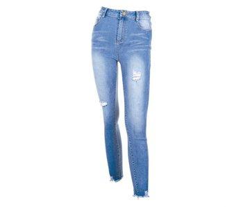 Coco + Carmen Coco + Carmen Farrah Distressed Skinny Jeans