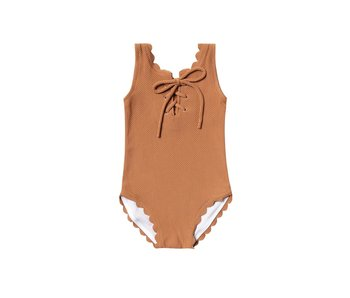 Rylee & Cru Rylee + Cru laced one piece swimsuit -size 6-12M