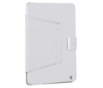 Divinity White textured ipad Mini Case