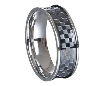 Mad Man Kyler Stainless Ring -size 14