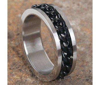 Mad Man Garth Stainless Ring