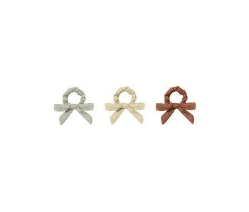 Rylee + Cru Rylee + Cru Little Bow Tie Set of 3