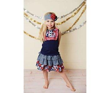 Oopsie Daisy Miss America Set and Headband