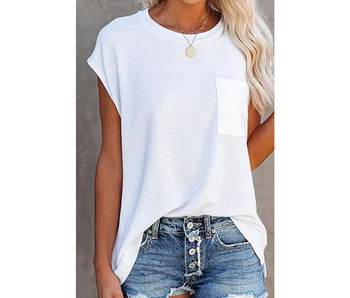 Esley White short sleeve tee
