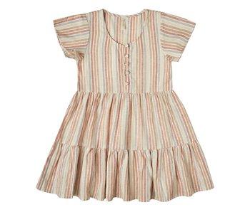 Rylee + Cru Rylee + Cru Multi Stripe Dolly Dress