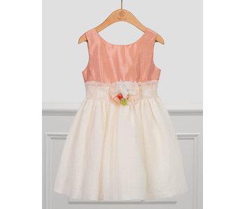 Abel & Lula Abel & Lula Line and tulle dress blush -size 4