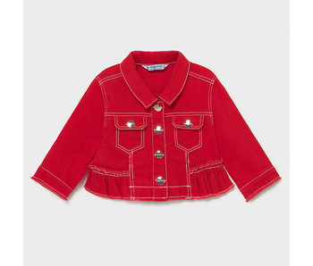 Mayoral Mayoral Twill baby girl jacket