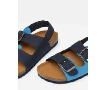 Joules Joules French Navy Luca sandals- size 11