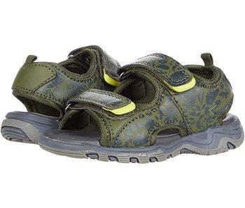 Joules Joules Rockwell green garden printed sandals -size 11