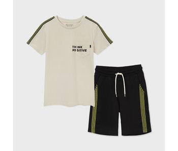Mayoral Mayoral boys t-shirt & short set -size 8