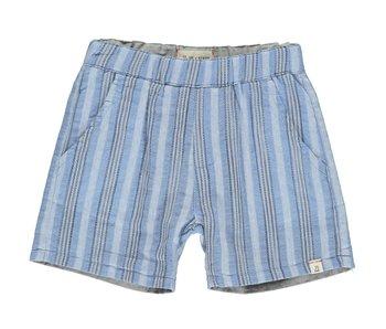 Me & Henry Me & Henry blue/grey reversible shorts