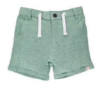Me & Henry Green Gauze shorts -size 6-12M
