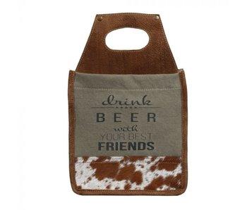 Myra Bags Best Friends 6-Pack Beer Caddy