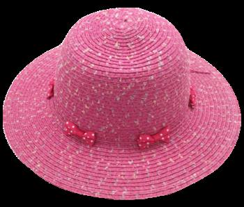 Yumi Girls Pink Sun Hat