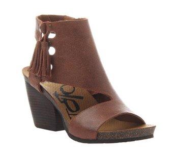 OTBT Flower Child Genuine Leather heeled sandals