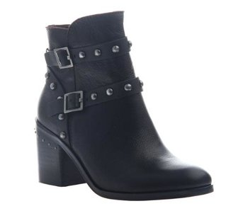 Nicole Shiri in Chocolate Ankle Boot