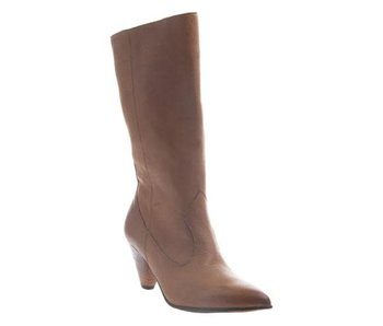 Naked Feet Semper Rubber Genuine Leather Mid Shaft Boot