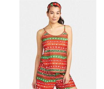 Coco + Carmen Holiday ribbons cami & headband