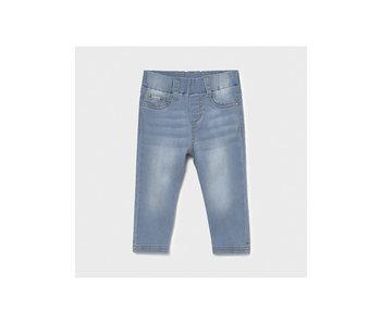 Mayoral Mayoral super skinny light washed jeans -size 6M