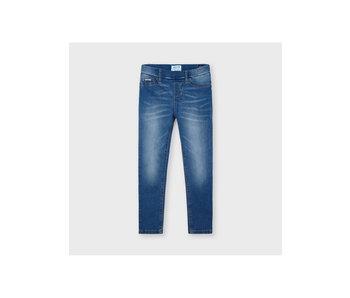 Mayoral Mayoral Ecofriends basic denim jeans mini girl- size 4