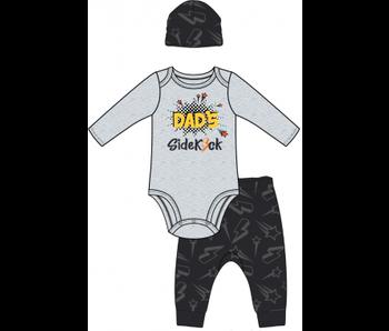 Baby Mode Boys 3 pc pant set -Dad's sidekick
