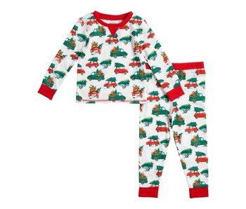 Mud Pie Christmas tree pajamas