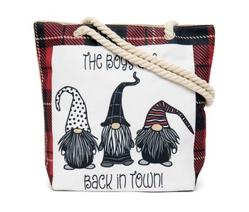 MeraVic Tapestry Gnome bag -Boys are back in town