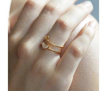 Secret Box Love heart ring