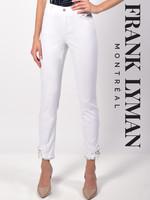 Frank Lyman Embellished Hem Jeans