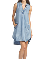Papillon Eastern Imports Sleeveless Shirt Dress