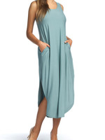 Papillon Eastern Imports Maxi Dress with Pockets