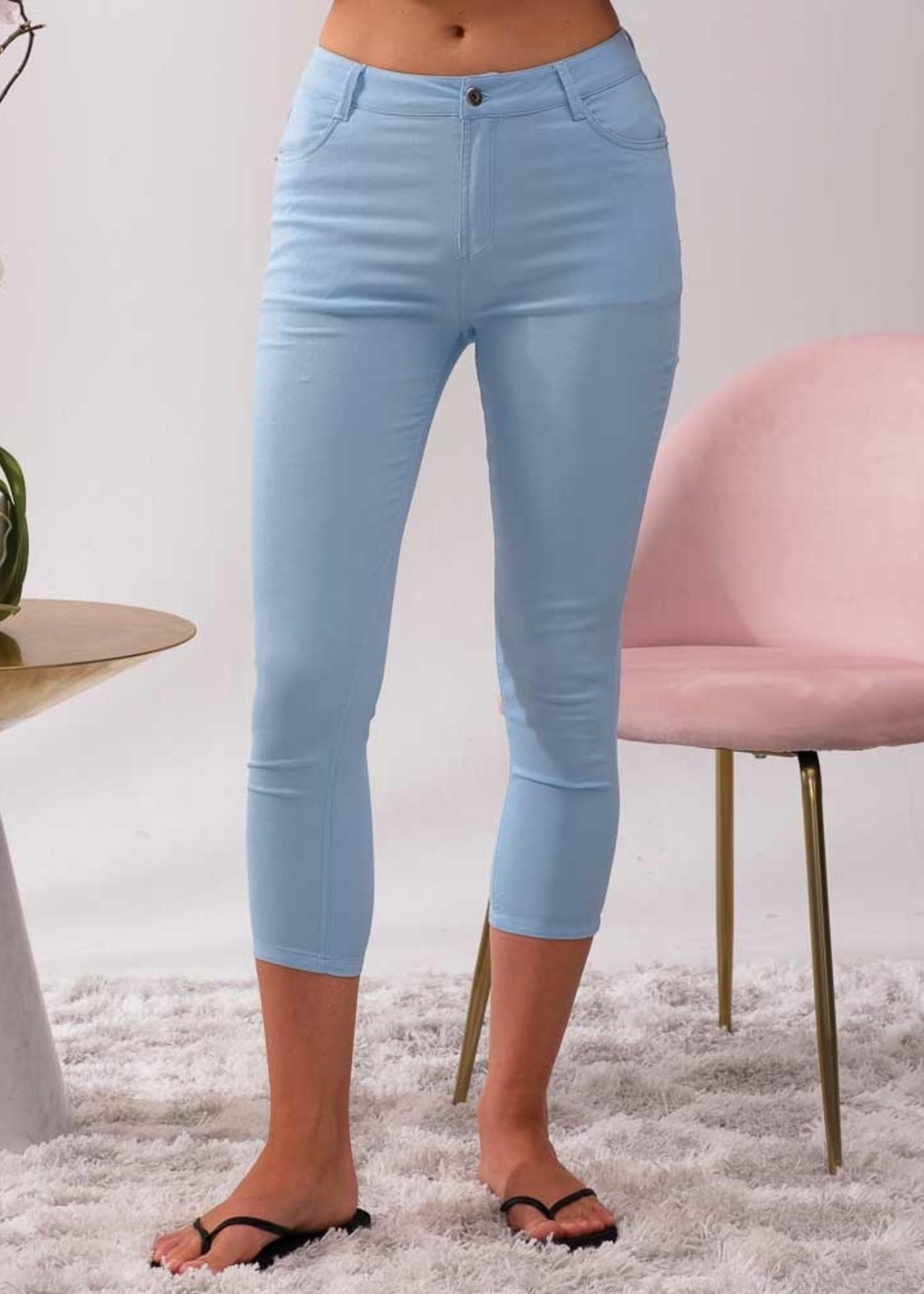 Alison Sheri Lightweight Capri Pants