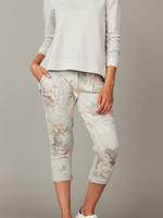 pistache Floral Jogging Pants