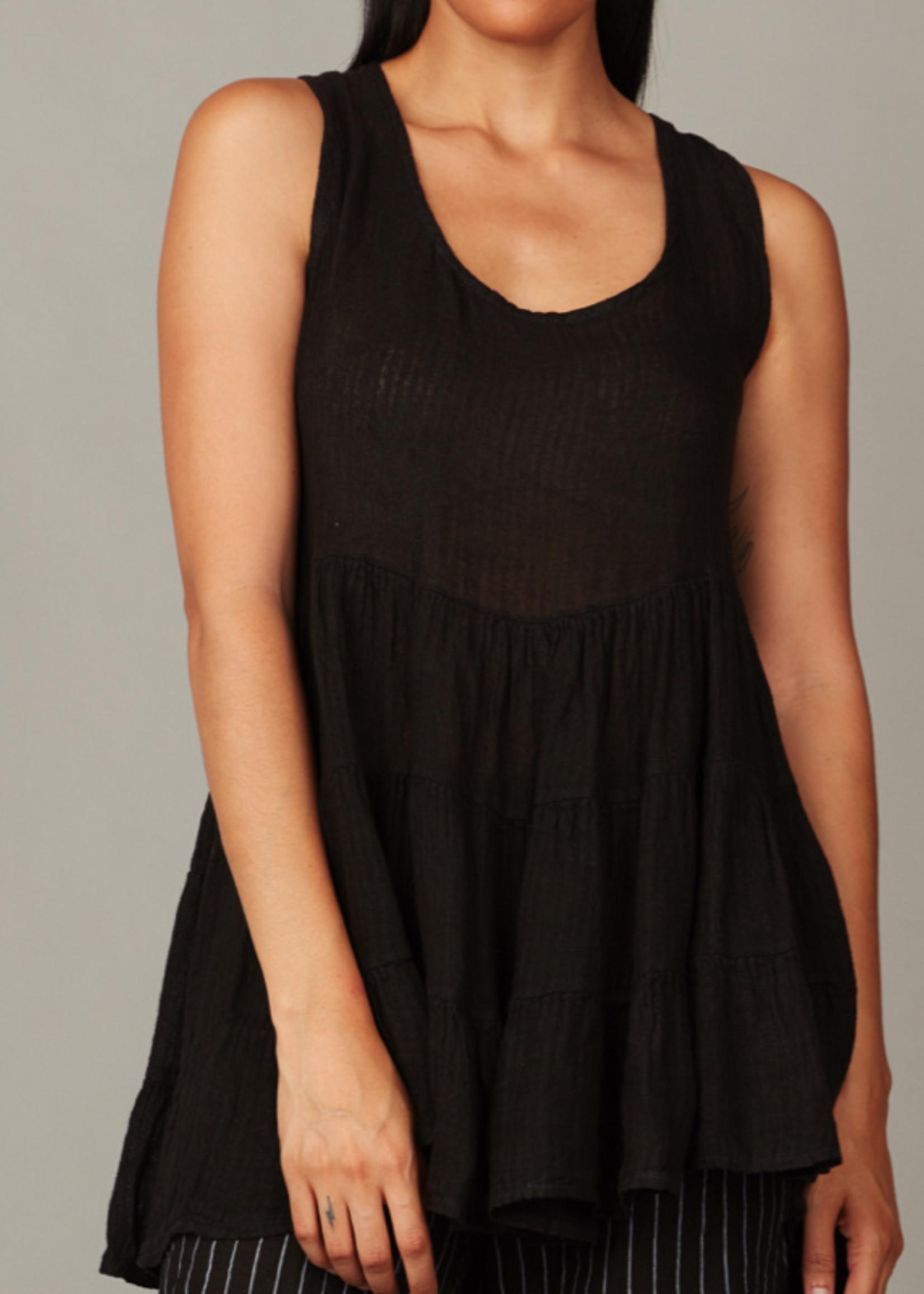 pistache Linen Beach Dress