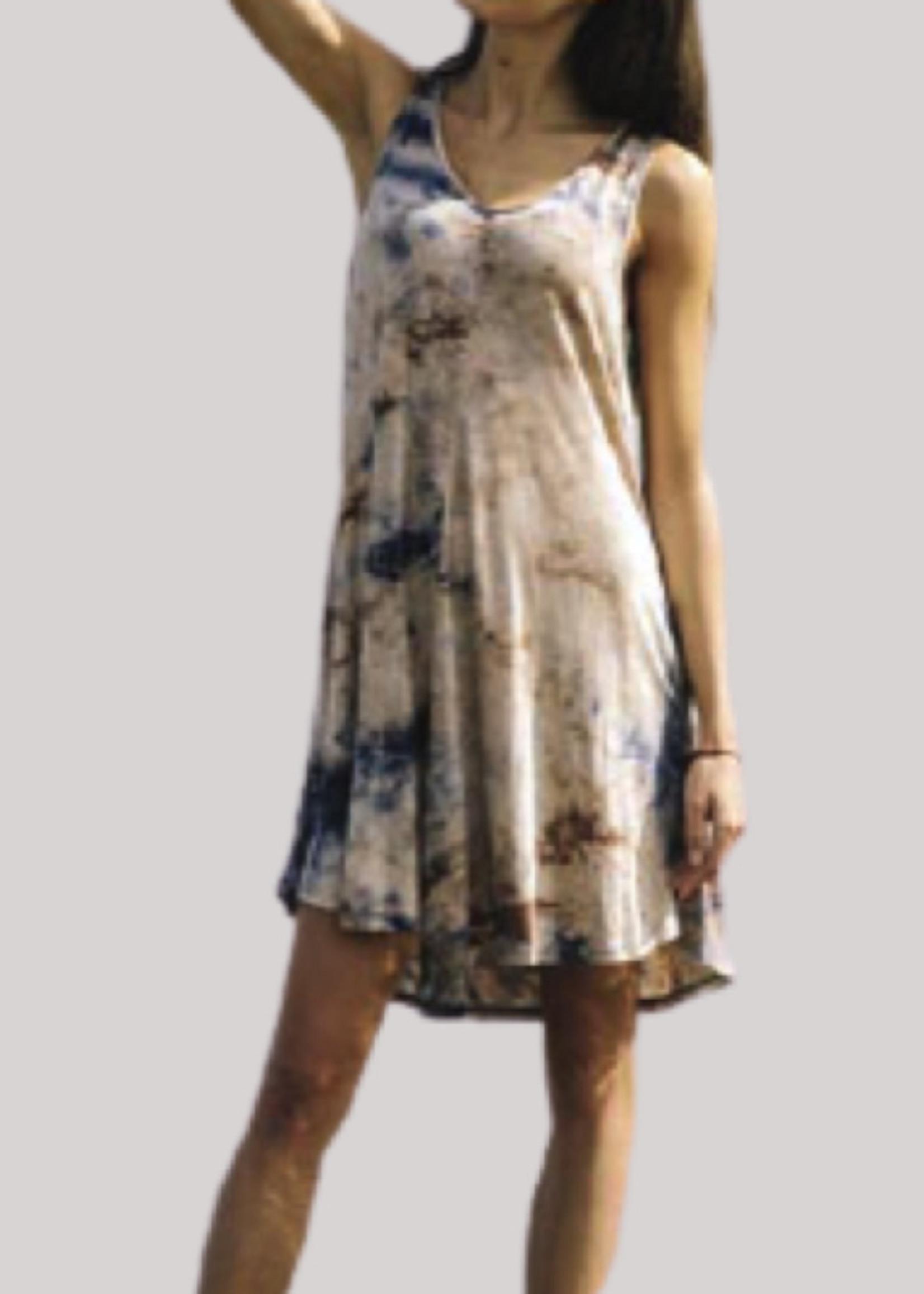 Papillon Eastern Imports Tie Dye Dress w/Pockets